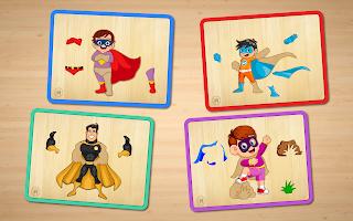 Baby Superhero Jigsaw Puzzle