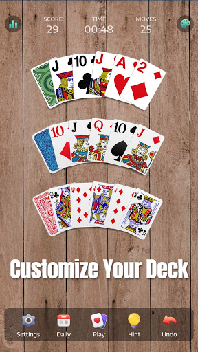 Solitaire - Classic Card Game, Klondike & Patience 1.0.0-21061246 screenshots 6