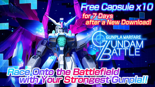 GUNDAM BATTLE GUNPLA WARFARE apkmr screenshots 1