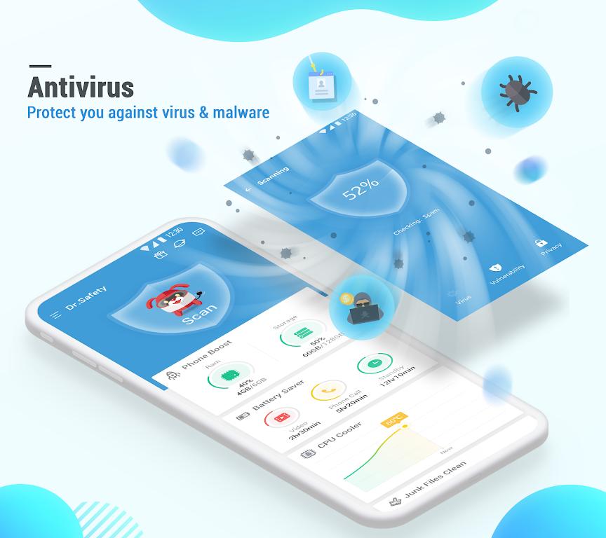 Dr. Safety: Free Antivirus, Booster, App Lock  poster 0