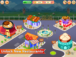 Cooking Corner - Chef Food Fever Cooking Games