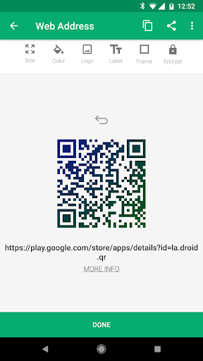 Foto do QR Droid