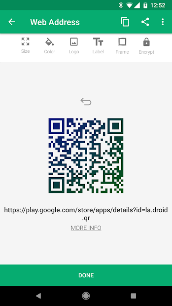 QR Droid screenshot 6