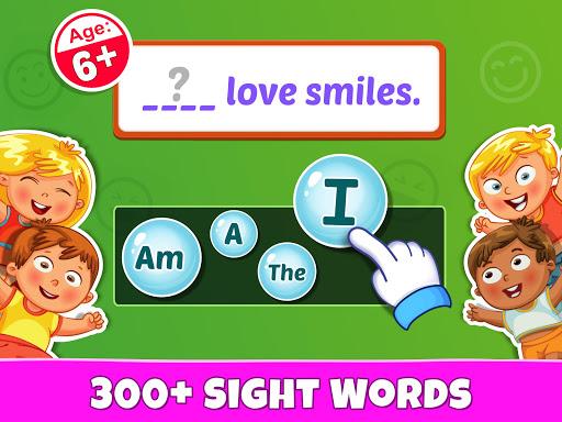 Sight Words - PreK to 3rd Grade Sight Word Games 1.0.6 Screenshots 8