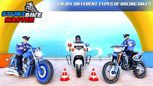Police Bike Stunt Games: Mega Ramp Stunts Game 1.1.0 screenshots 7