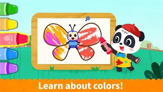 Baby Panda's Coloring Book 9