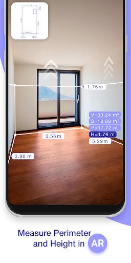 ARPlan 3D: Tape Measure, Ruler, Floor Plan Creator screen 0
