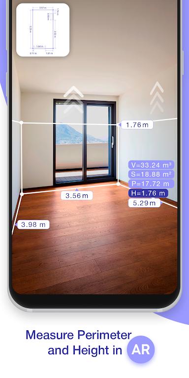 ARPlan 3D: Tape Measure, Ruler, Floor Plan Creator poster 0