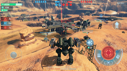 War Robots. 6v6 Tactical Multiplayer Battles goodtube screenshots 6