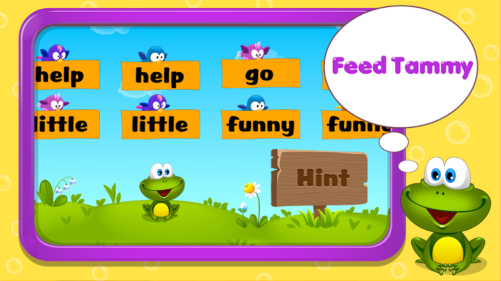 Kids Reading Sight Words  poster 12