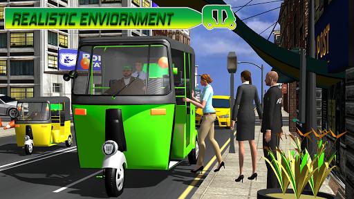 Modern auto tuk tuk Real rickshaw game 2021 1.8 screenshots 6