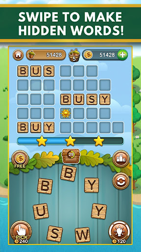 Word Forest - Free Word Games Puzzle  screenshots 1