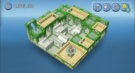 Flow Water Fountain 3D Puzzle 1.2 Screenshots 18