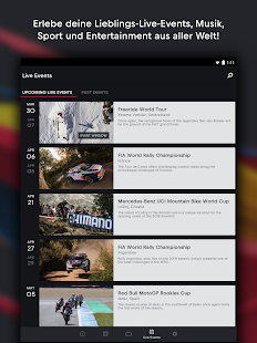 Red Bull TV: Filme, TV Serien, Live Events Screenshot