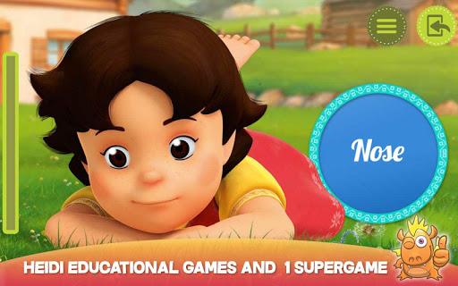 Heidi: best toddler fun games 7.0 Screenshots 21