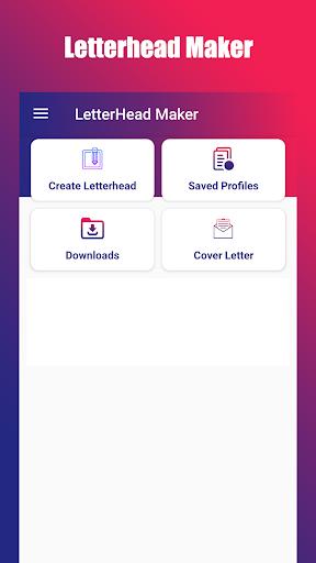 Letterhead Maker US 2021 - Free Premium Templates 3.6 screenshots 1