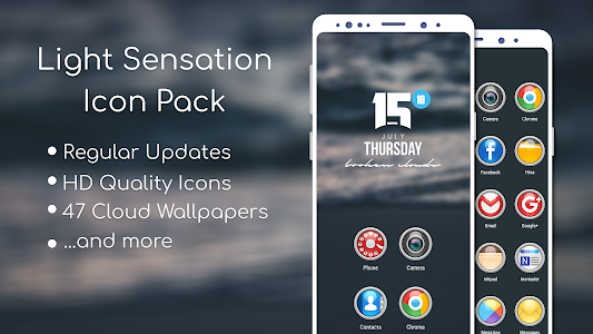 Light Sensation Icon Pack 3.0.6 (Patched)