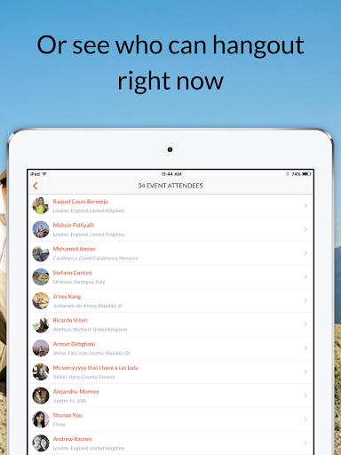Couchsurfing Travel App  Screenshots 10