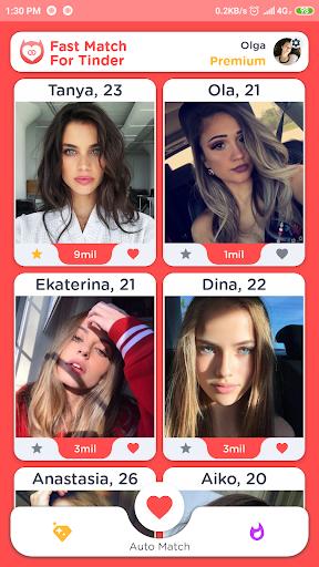 Fast Match For Tinder  Screenshots 1