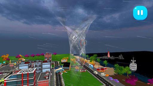 Tornado Rain and Thunder Sim 1.0.7 screenshots 3