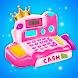 ピンクプリンセス食料品市場の金銭登録機 - Androidアプリ