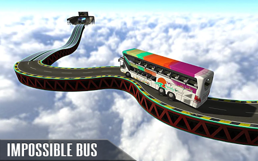 Impossible Bus Simulator Tracks Driving 1.7 Screenshots 18