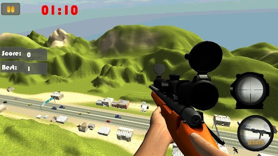 Sniper Road Traffic Shooter 3D Game Hack & Cheats 1
