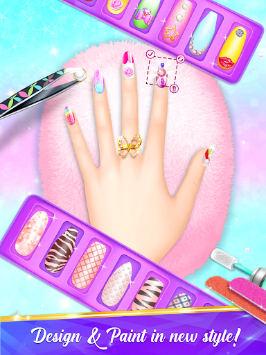 Nail Salon Manicure - Fashion Girl Game 1.2.1 screenshots 1