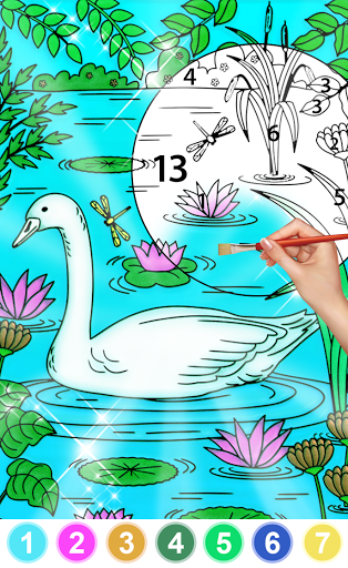 Color By Number & Paint By Number - Coloring Book 6.0 screenshots 1