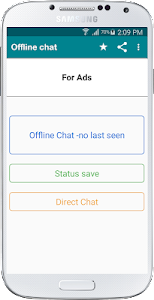Offline Chat -no last seen, blue tick for WhatsApp 1.5.6.5