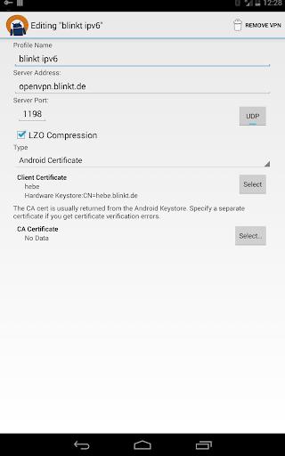 OpenVPN for Android apktram screenshots 7