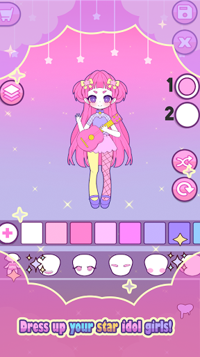 Mimistar: Dress Up chibi Pastel Doll avatar maker apkdebit screenshots 10