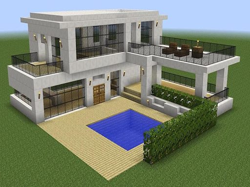 New Modern House for Mineu273fu273fu273fcraft - 500 Top Design 6.7.77 Screenshots 13