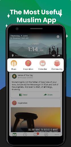 Muslim Pro: Athan, Quran, Prayer Times Qibla Islam apktram screenshots 1
