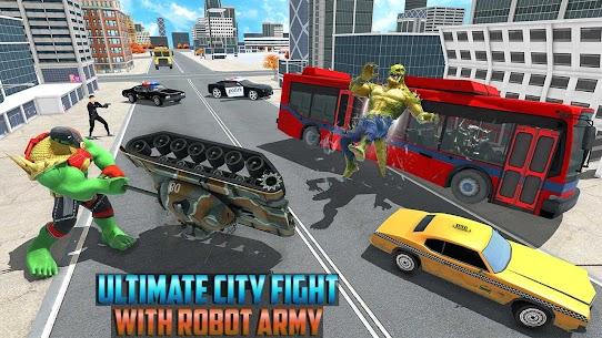 Incredible Monster Green Hero New City Battle 2021 5