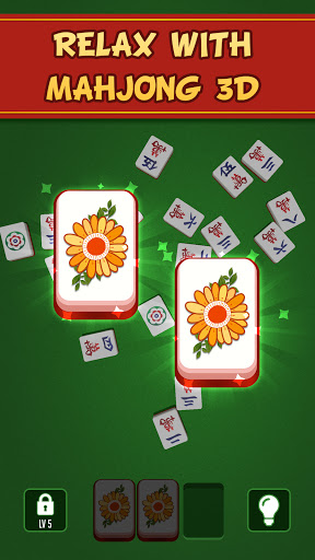 Mahjong 3D - Pair Matching Puzzle screenshots 1