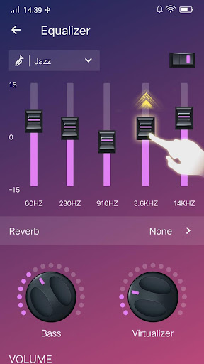 Music Player - Audio Player & Bass Booster android2mod screenshots 7