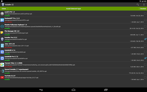 Installer Pro (Install APK) Screenshot