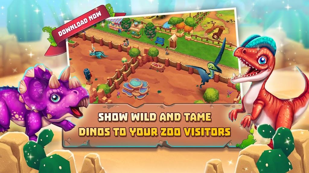 Dinosaur Park – Primeval Zoo  poster 3
