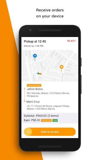 LalaFood Partners - Driver 7.7.0 screenshots 2
