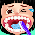 Mouth care doctor - dentist & tongue surgery game