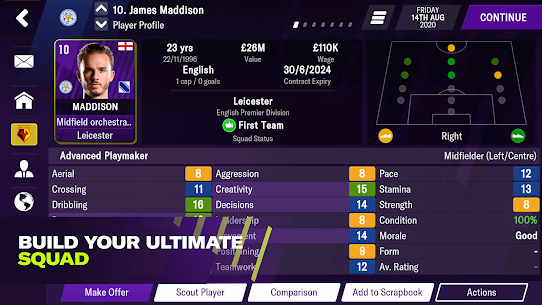 Football Manager 2021 Mobile 12.0.2 MOD APK [UNLOCKED] 1