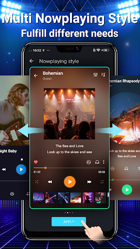 Music Player - MP3, Equalizer android2mod screenshots 6