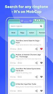 MobCup Ringtones & Wallpapers Screenshot