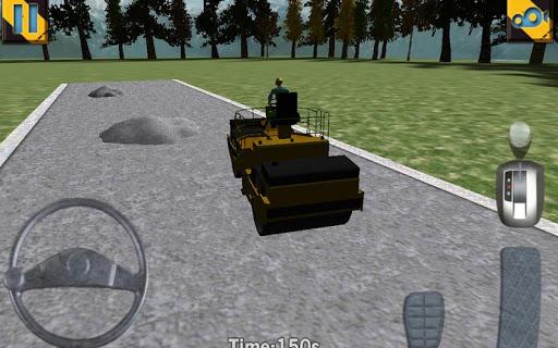 road roller parking extended screenshot 2