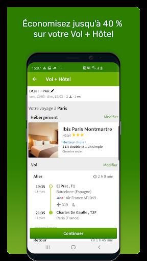 Go Voyages: Ru00e9server des vols et voyages pas chers 4.206.0 Screenshots 3