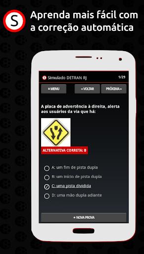 Simulado DETRAN RJ apktram screenshots 3