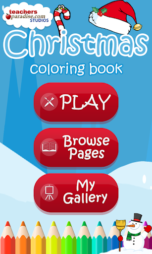 Christmas Coloring Book Games screenshots 1