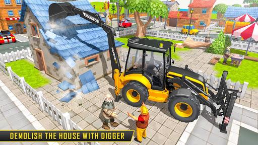 Heavy Excavator Sim 2021: Construction Simulator  screenshots 9