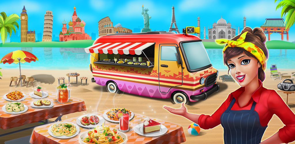Cooking Games: Food Truck Chef My Cafe Restaurant poster 0